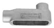 APP LB100-M 1 LB FORM 35 MALLEABLE IRON CONDUIT BODY