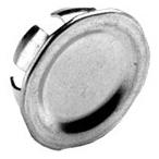 BRI 1691 1/2 SNAP-IN KO BLANK TOPAZ KO50 PEC20