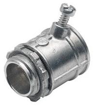 BRI 507-DC2 1/2 S/SCR FLEX CONN (use with STEEL flex)