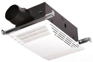 BROAN 658 Heater/Fan White Plastic Grille 70 CFM same as Model 655 but does not include light