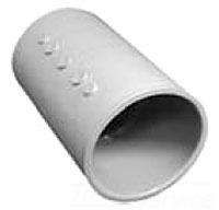 PVC 4 LONGLINE COUPLING SCH40 CPLG CENTER STOP
