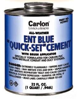 CARLON VC9992 BLUE CEMENT QUART