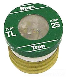 BUSS TL25 25 Amp Time Delay Fuse BUSTL25