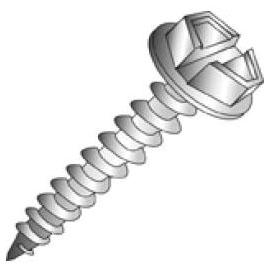 CUL 79516BFG 8X1-BULK HEX WASHER HEAD CULLY 8000/CASE FKA 79516-4
