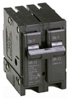 C-H BR2100 100A 2P SNAP-IN CIRCUIT BREAKER 120/240V TYPE BR