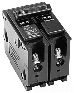 C-H BR230 30A 2P SNAP-IN CIRCUIT BREAKER 120/240V TYPE BR