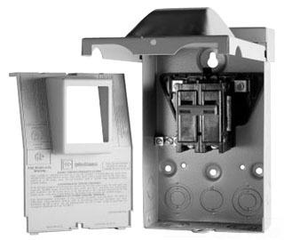"""C-H DPB222R 60/2 NON-AUTO AC DISC """"NON-AUTO CIRC-BRKR"""" DISCONNECT"""