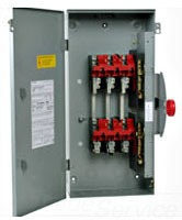 C-H DH261UGK 30A 2P 600V NON-FUSIBLE NEMA1 HEAVY DUTY SAFETY SWITCH