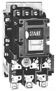 C-H B100M0CA MANUAL MOTOR STARTER SZ 0 3P W/3P OL PB