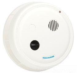 Edwards Signaling 517TC 120 VAC Ceiling/Wall Mount Relay Smoke Detector Alarm