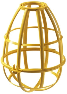 EPCO 16100 REPL BULB CAGES YELLOW (snaps on 16023 pig-tail socket)