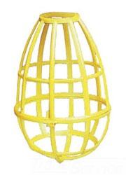 EPCO 16110 150W PLSTC LAMP GUARD 150W-A23