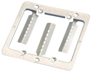 CADDY MPLS2 2G METAL LOW VOLTAGE MTG PLATE BRKT (SCREWS INCL)