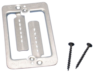 CADDY MPLS 1G METAL LOW VOLTAGE MOUNTING PLT BRKT (SCREWS INCL)