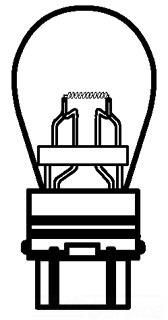 GE 3156 MINIATURE LAMP 21863