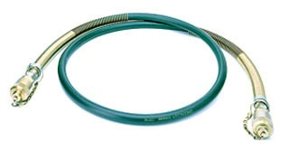 Greenlee 11289 3/8 Inch x 6 Foot Hydraulic Hose with Two Male Quick Coupler