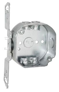 Raco 164 4 OCT 1-1/2D BOX W/FLT BKT