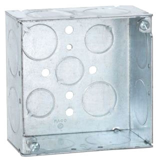 Raco 233 4SQ 2-1/8D BOX 1IN KO