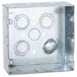 Raco 258 4-11/16SQ 2-1/8D BOX