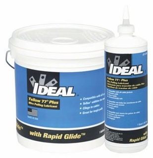 IDEAL 31-351 1 GAL YELLOW 77 WAX BASE PULL COMP