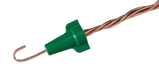 IDEAL 30-292 GREEN GROUNDING CONNECTOR- BAG 500