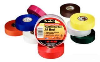 3M 35-ORANGE-3/4 3/4X66FT ORANGE CODING TAPE 80610834022