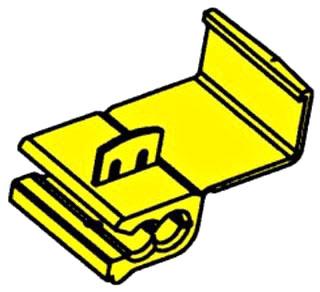 3M 562-BOX SELF-STRIP TAP CONNECTOR YELLOW SCOTCHLOK 12-10 80601103171