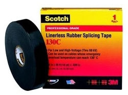 "3M 130C-3/4""x30ft RUBBER SPLICING TAPE 7000006085"