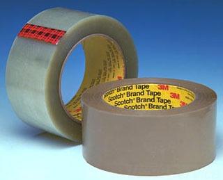 3M 355-Clear-48mmx50m Scotch Box Clear Sealing Tape