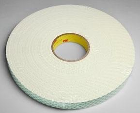 """3M 4508-1/2""""x36yd Single Coated Vinyl Foam Tape"""