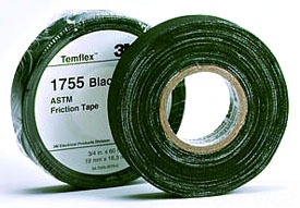 "3M 1755 COTTON FRICTION TAPE 15MIL 3/4""WIDE X 82-1/2ft 7010297809"