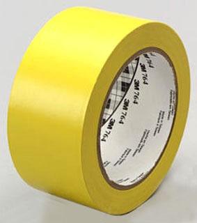3M 764-2inx36yd-Yellow General Purpose Vinyl Tape