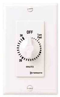 INT FD2HW WHT 2HR WALL TIMER