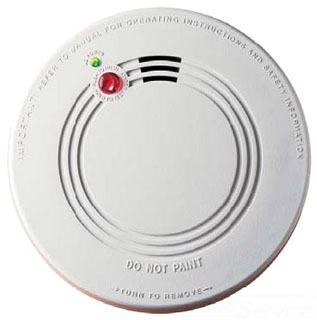 KIDDE 21007581 Ionization Smoke Alarm 120v w/9v Battery Backup