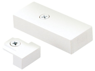 JUNO TL38WH END FEED CONNECTOR JOINER WITH COVE WHITE