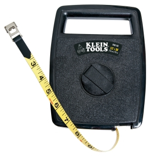 KLEIN 946-50 50FT WOVEN FIBERGLASS TAPE MEASURE