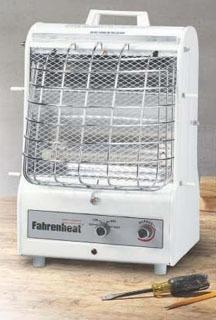 Marley MCM1503 120 Volt 1500/900/600 W Portable Fan Forced Radiant Utility Heater