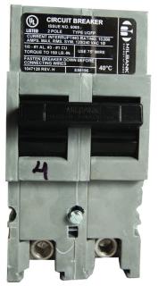 MILB UQFP-200 200/2 PLUGIN BREAKER