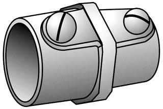 OZ-G ESR-50 1/2 RIG-EMT S/SCR CPLG
