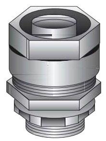 OZ-G 4Q-50 1/2 STRAIGHT LIQUID TITE CONNECTOR MALLEABLE IRON