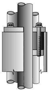 O-Z/Gedney CSBE-300P-1 Conduit Sealing Bushing