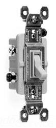 P&S 663-WG 3 WAY WHITE SWITCH W/GROUND