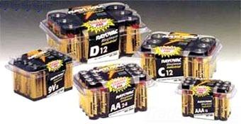 RAYOVAC ALAA-24PPJ 24PK Ultra Pro AA ALKALINE Battery-ContractorPack