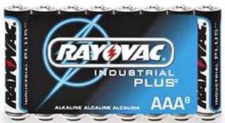 RAYOVAC ALAAA-8J Alkaline AAA Ultra -Pro Battery 8-Pack(shrink wrapped)
