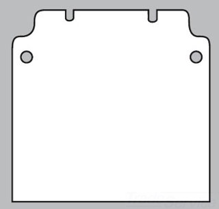 Rittal 1565700 RTL KL JNCTN BOX MTG PANEL