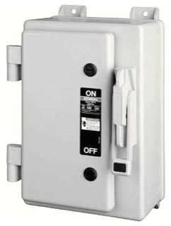 ITE HNF261 30A 2P 600V HEAVY DUTY NEMA1 NON-FUSED SAFETY SWITCH USE TYPE ECHS HUB