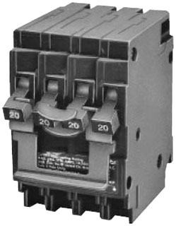 ITE Q23050CT2 QUAD 2P 120/240V 1-50/2 CIRCUIT BREAKER