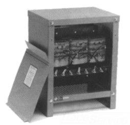 HEV HT1F6AS 6KVA 3PH TRANSFORMER 480V PRI - 208/120 SEC ENCAPSULATED