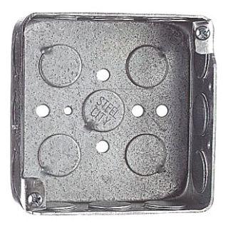 "STL-CTY 52151-1/2 4""SQ BOX 1-1/2 D 1/2 KO (APP 4S-1/2)"