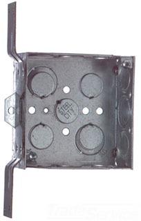 "STL-CTY 52151-CV-1/2-3/4 4""SQ BOX W/Mtg Brkt for Stud Mounting (Orbit 4SB-MKO-FB)"